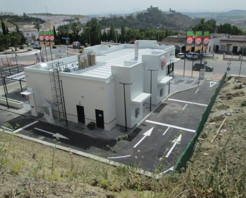 CYMES Construye Burger King en Arcos de la Frontera