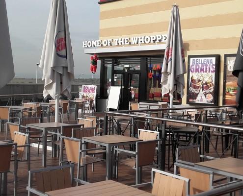 CYMES Construcción Burger King Gran Plaza 2