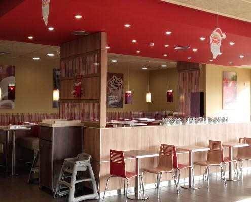 Instalación de Suministros Burger King Gran Plaza 2