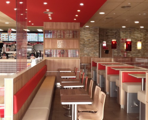 Construcción Nuevo Local Burger King Gran Plaza 2