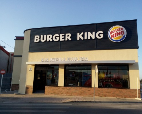 New construction Burger King at Linares