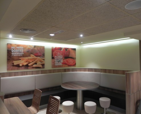 Proyecto y Acondicionamiento Restaurante Burger King Paris