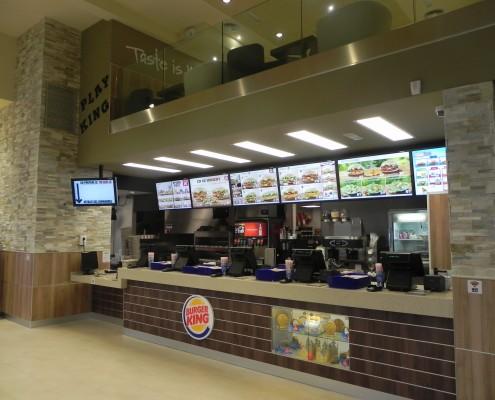 Diseño y Distribución Franquicia Burger King Paris