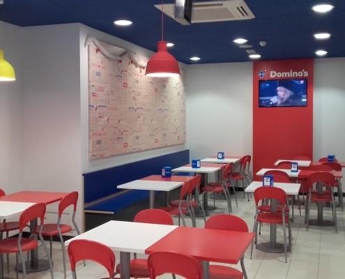 Reforma y Acondicionamiento Local Domino's Pizza