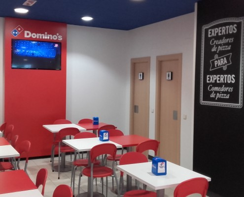 Renovación Local Domino's Pizza