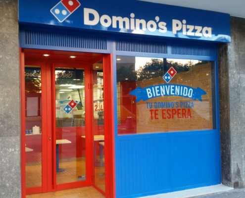 Reforma y Rehabilitación Local para Domino's Pizza
