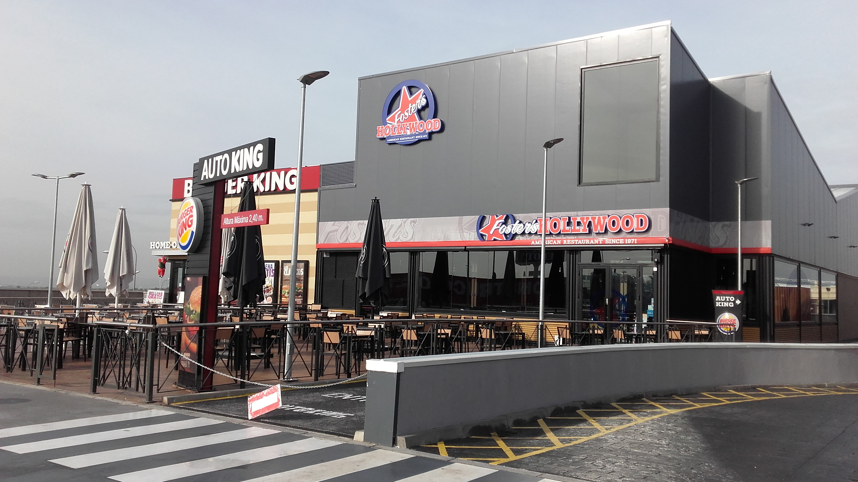 : Nueva Obra Restaurante Foster's Hollywood