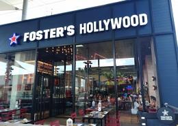 La nueva Fachada de Foster Hollywood