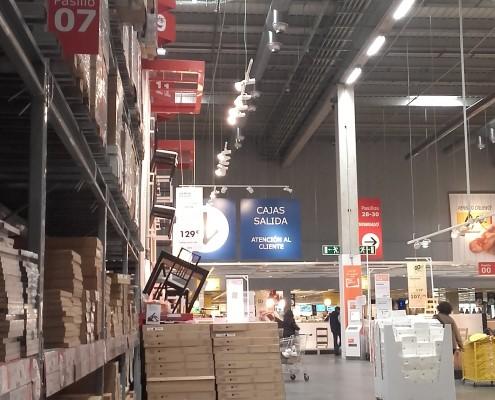 Rehabilitación y Reacondicionamiento Almacén IKEA