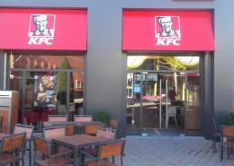 Fachada KFC Heron City Las Rozas