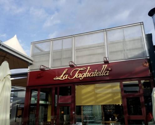 CYMES Construcción Restaurante La Tagliatella en Nassica