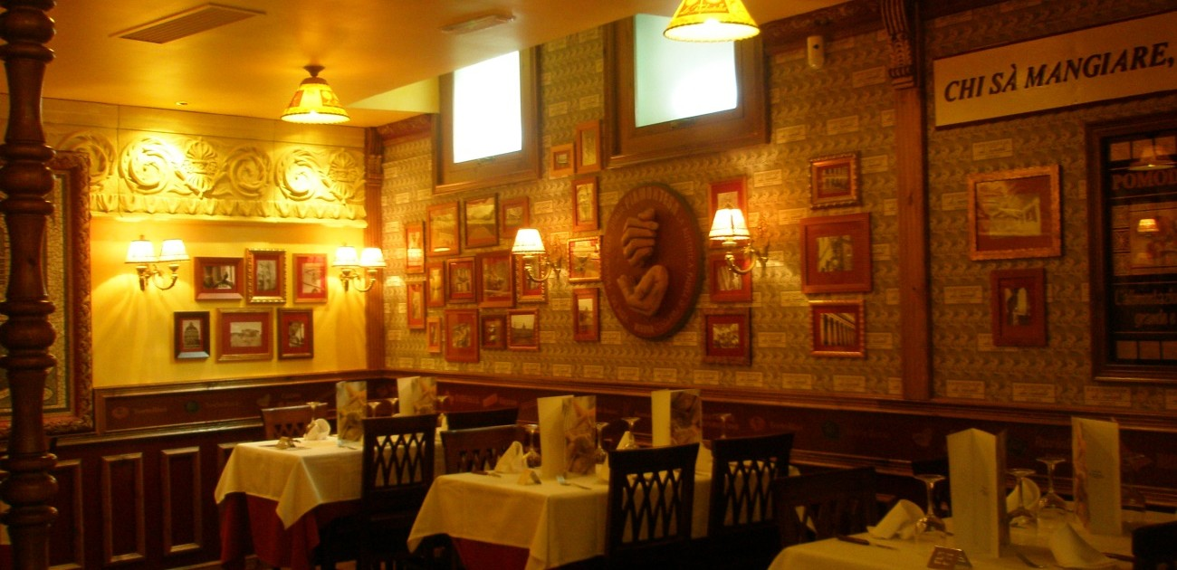 Montaje Restaurante La Tagliatella en Pamplona