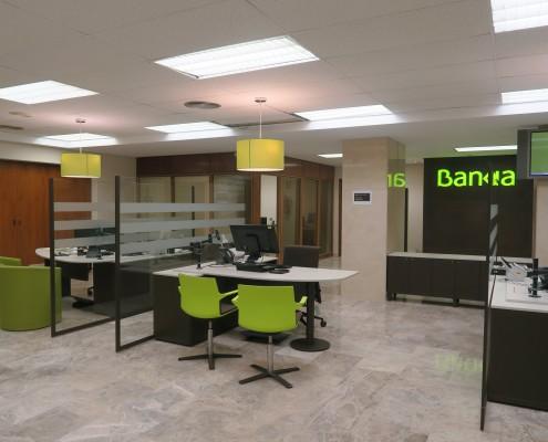 Adecuación oficinas bancarias