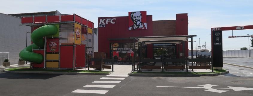 Entrada KFC torrejón