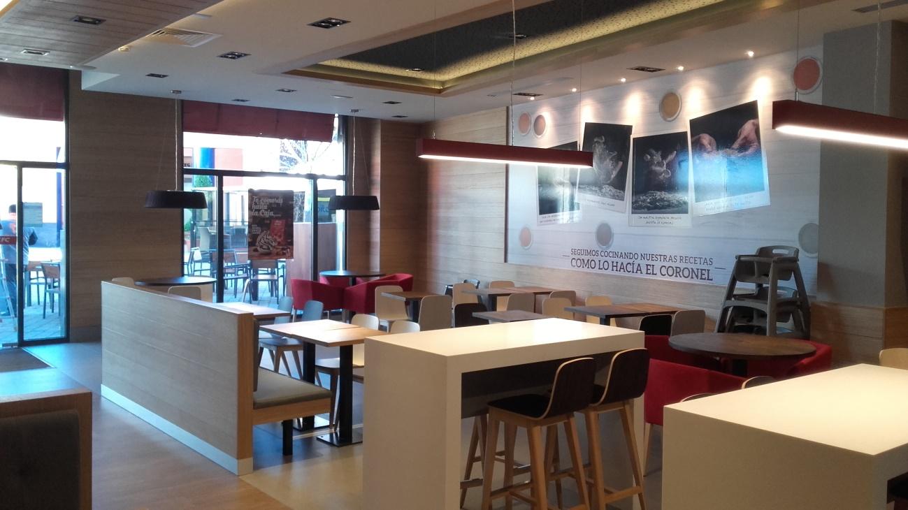 Cymes Construcci N Y Montaje Restaurantes Kfc # Muebles Las Rozas